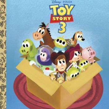 Little Golden Book: Toy Story 3 by Annie Auerbach and RH Disney Staff (2010, Har