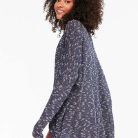 BDG Brady Textured Cocoon Cardigan - Urban Outfitters