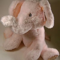 "13"" Pink Large Elliefumps Elephant Russ Baby Girl Shower Gift Soft Plush Toy NWT"