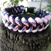 Paracord Bracelet,  Survival Bracelet, 550 Paracord, Women's