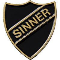 Supreme: Sinner Pin - Black