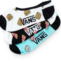 Vans 3 Pack Canoodle Sweet Tooth No Show Socks