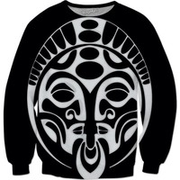 Shaka Zulu Warrior Black Sweatshirt