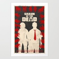 Shaun Of The Dead Art Print by Bill Pyle