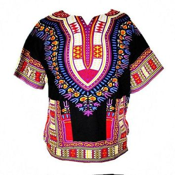 ONETOW African Bazin Riche Clothes Dashiki T-shirt