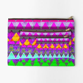 'triangle' Studio Clutch by zappwaits
