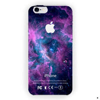 Vortex Galaxy Nebula With Apple Logo For iPhone 6 / 6 Plus Case