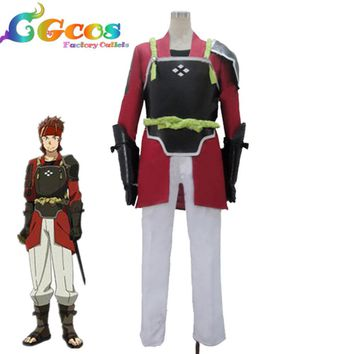 CGCOS New! Free Shipping Cosplay Costume Sword Art Online 2 Klein Cos Set Stock Halloween Christamas Party Uniform