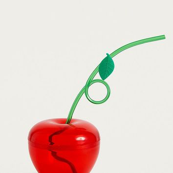 Cherry Sipper Cup | Urban Outfitters