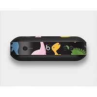 The Vector Neon Dinosaur Skin Set for the Beats Pill Plus