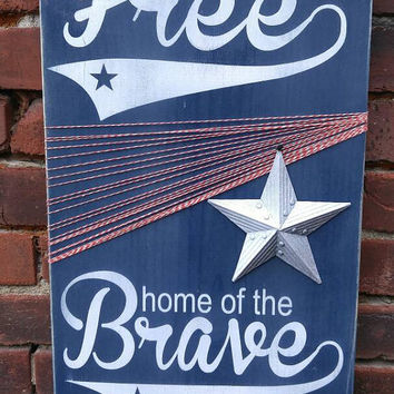 Patriotic Wall Decor - 4th of July Decorations - Memorial Day - Americana Wall Decor - Patriotic Decor - Patriotic Decorations - Americana