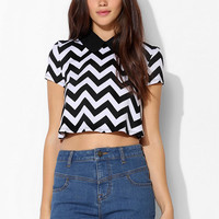 Coincidence & Chance Pointed-Collar Tee - Urban Outfitters