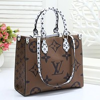 Louis Vuitton LV Women Fashion Leather Handbag Crossbody Satchel