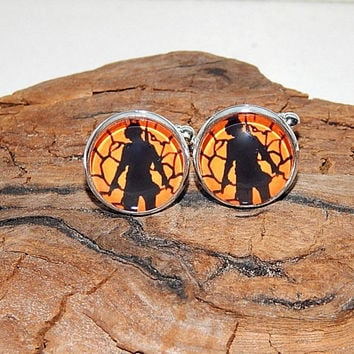 PUBG logo cufflinks, Battlegrounds logo jewelry, pubg simbol cufflinks, pubg patch, pubg emblem, gamer cufflinks, Video Game pubg cuff links