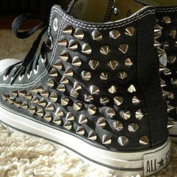 bcd48161ff98 Best Black High Top Converse Products on Wanelo