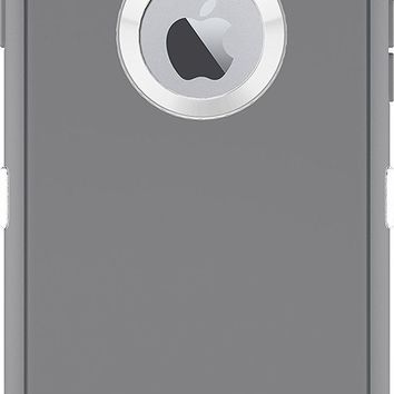 DCCKRQ5 OtterBox iPhone 6 ONLY Case - Defender Series, Retail Packaging - Glacier (White/Gunmetal Grey) (4.7 inch)