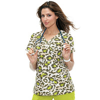 Koi Happiness Women's Kathryn Print Wrap Top