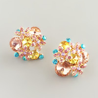 Bellevue Cluster Earrings