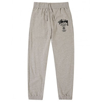 Stussy: WT Sweatpant - Grey Heather