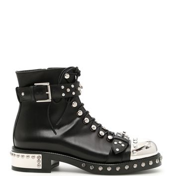 Best price on the market: Alexander McQueen Studded Leather Booties