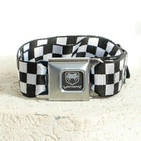 Vintage 2003 Viper Checkerboard Belt - One Size Fits Many