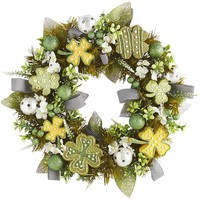 Shamrocks & Vine Wreath