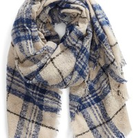 Sole Society Mixed Plaid Scarf | Nordstrom