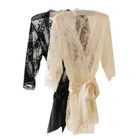 Women Sexy Lace Lingerie Sleepwear Nightwear Nightdress Robe