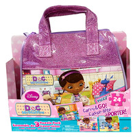 Doc McStuffins Carry and Go 3-Puzzle Pack [24 Pieces Each]