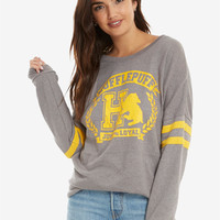 Harry Potter Hufflepuff Traits Womens Sweatshirt - BoxLunch Exclusive
