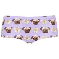 Pugs and Daisies Print Boypants - New In This Week - New In