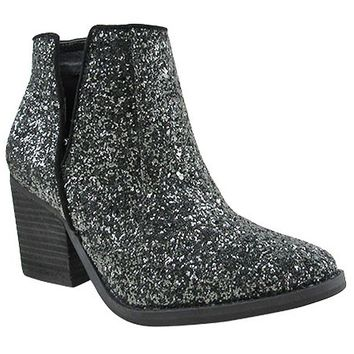 Firefly Glitter Ankle Boot By Not Rated
