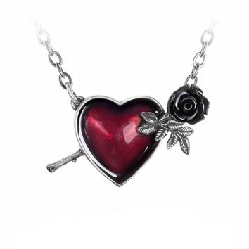 Wounded By Love Pendant Necklace.