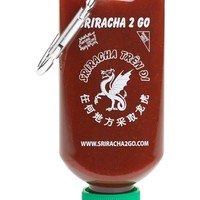 Sriracha 2 Go Refillable Hot Sauce Keychain Bottle | Nordstrom