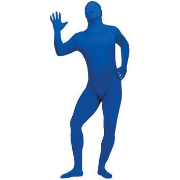Costume Morphsuit: Adult Skin Suit (FW-64) | Blue