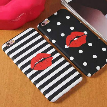 Sexy Lip bestie mobile phone case for iphone 6 6s 6 plus 6s plus + Nice gift box 71501