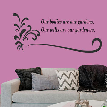 Wall Decal Vinyl Sticker Decals Art Home Decor Design Murals Sport Decals Health Quotes Decal Yoga Studio Decals Beauty Salon Decals OP23