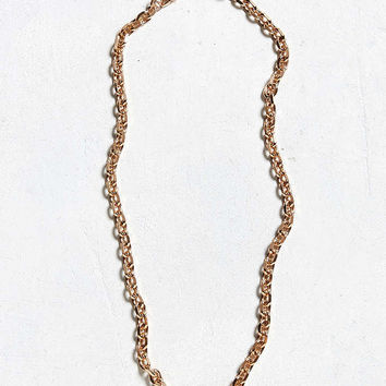 Seize & Desist Anchor 30 Chain Necklace - Urban Outfitters