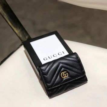 Gucci Women and Men Wallet Purse Moneybag LV Bumbag