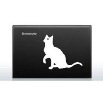 Cat (Style# 2) Automobile Car Window Decal Tablet PC Sticker Automobile Window Wall Laptop Notebook Etc. Any Smooth Surface