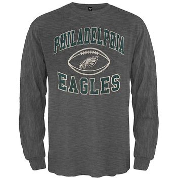 Philadelphia Eagles - Logo Scrum Premium Long Sleeve T-Shirt