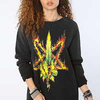 UNIF The Burn Weed Sweatshirt : Karmaloop.com - Global Concrete Culture