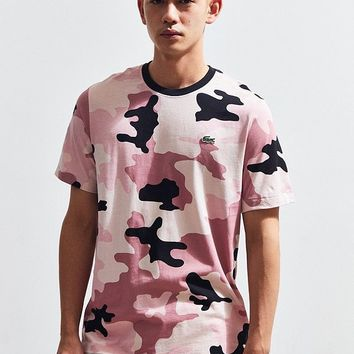 Lacoste Camo Tee | Urban Outfitters