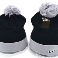 Nike Women Men Embroidery Beanies Winter Warm Knit Hat Cap
