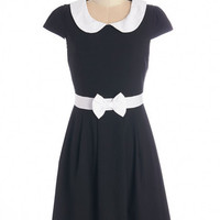 ModCloth Cap Sleeves A-line Address Rehearsal Dress