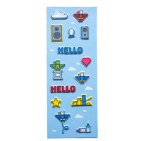 H5 - Hello™ Puffy Stickers