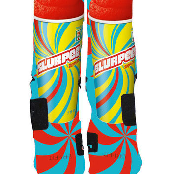 Newest Slurpee Edition Inspired Custom Nike Elites