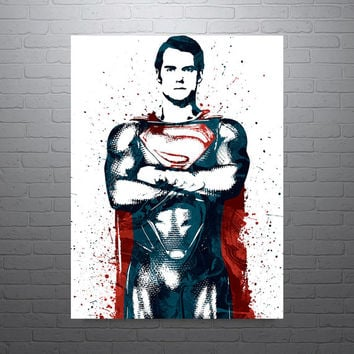 Superman Batman v Superman Poster
