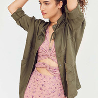 Kimchi Blue Cropped '80s Anorak Jacket | Urban Outfitters