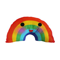So into this design on Fab! Happy Rainbow Cushion #FabForAll
